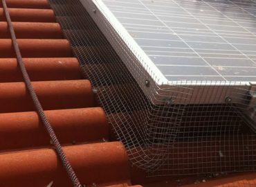 Barriera Antintrusione per Pannelli Solari